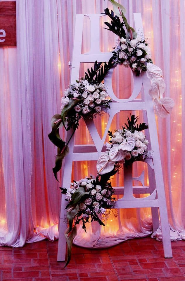 Decorations for a love themed Weddings!