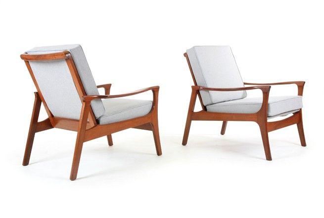 DON 'Concord' Armchairs - Mr. Bigglesworthy Designer Vintage Furniture Gallery