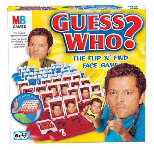 "Did you know: Misha Collins would rather have a ""Battleship"" styled game."