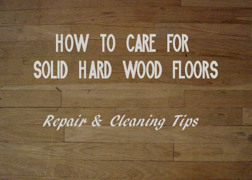 Solid hardwood floors repay a little care with a lifetime of value. www.ajaysflooring.com