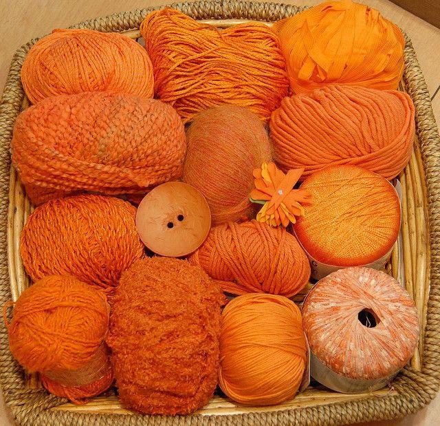 I love orange everything.