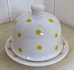 Collection. Petit pot de beurre en porcelaine CYRILLUS Paris