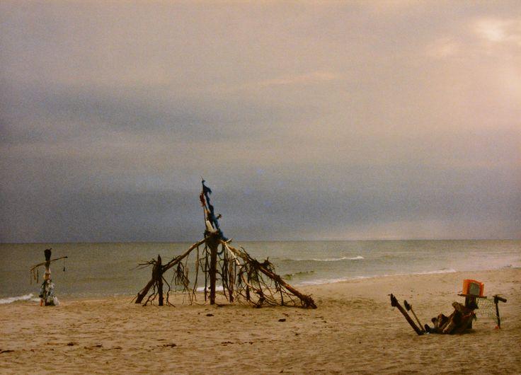 "Yury Ermolenko, ""AROUND & AROUND III"" (Land art project ""Baltic - Hel""), 2003, Hel Peninsula, Baltic Sea, Poland #YuryErmolenko #юрийермоленко #ЮрийЕрмоленко #yuryermolenko #юрiйєрмоленко #ЮрiйЄрмоленко #юрийермоленкохудожник #landart #balticsea #sea #sky #amazing #RapanStudio #photo #photography #metaphysics #metaphysical #philosophy #installation #лэндарт #инсталляция #art #contemporaryart #modernart #magic #texture #лэндарт #poland #hel #helpeninsula #artproject #искусство #creative"