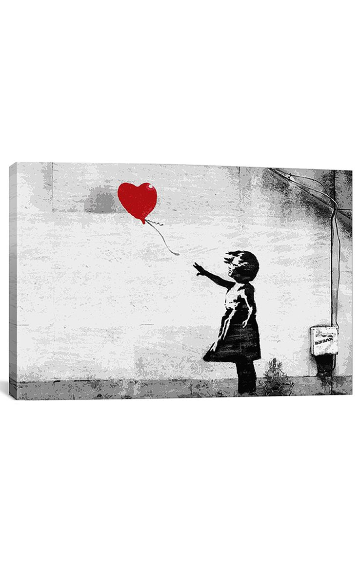 Banksy Prints on Gallery-Wrapped Canvas