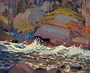 Swift Water  by Tom Thomson