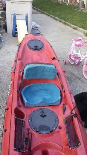 DIY kayak seat for my Hobie Revolution  Fly Fishing