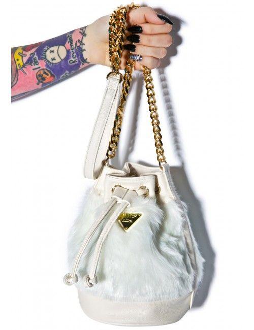 Joyrich Candy Fur Mini Bucket Bag | Dolls Kill
