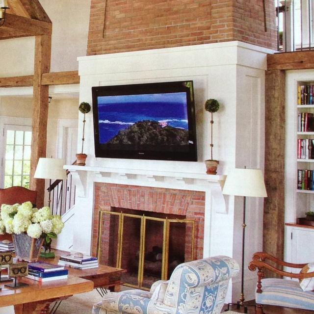 White Mantle Fireplace Fireplace Pinterest