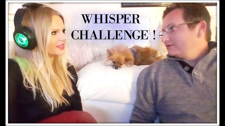 WHISPER CHALLENGE ! best fun whispering challenge game video !