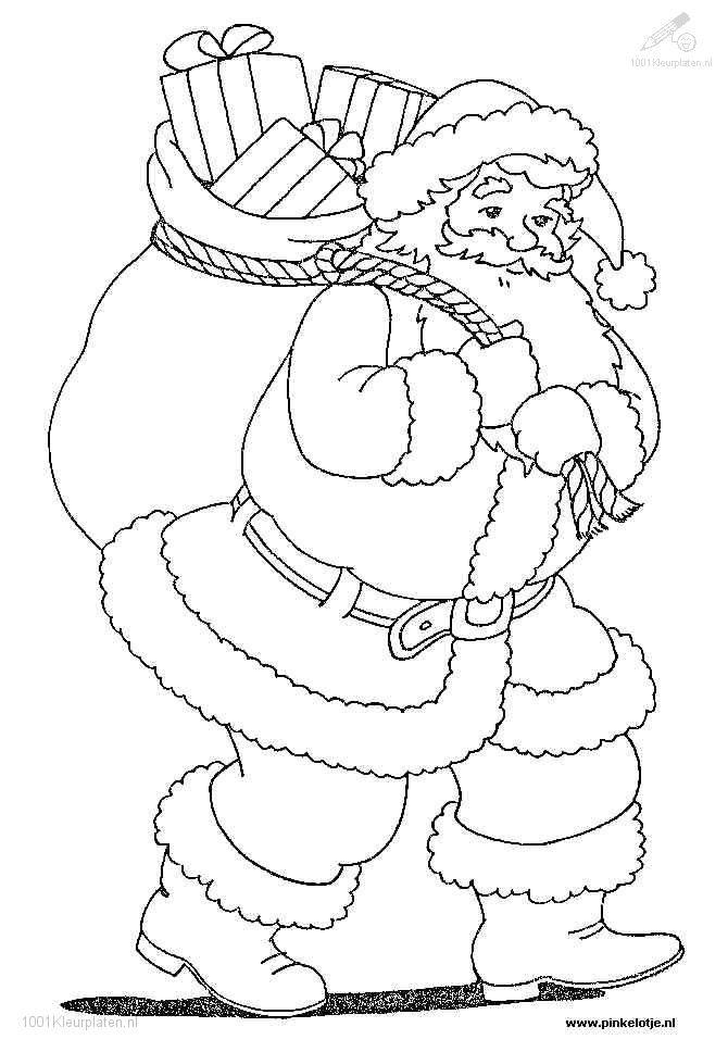 pare no el coloring page  bing images  santa claus