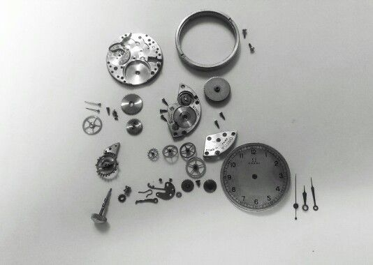 Oméga 23.4 S.C First sweep second & waterproof from Oméga, circa 1936. Historic watch!