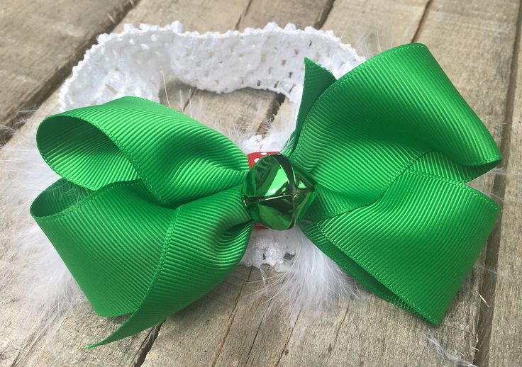 A personal favorite from my Etsy shop https://www.etsy.com/listing/530644961/christmas-hair-bowlittle-girl-hair-bows