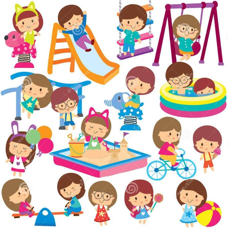 66 best clip art playground images on pinterest children rh pinterest com playground clipart free playground clip art images