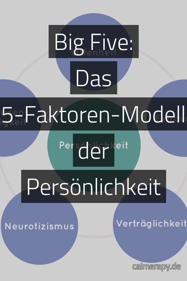 Die big five der persönlichkeit