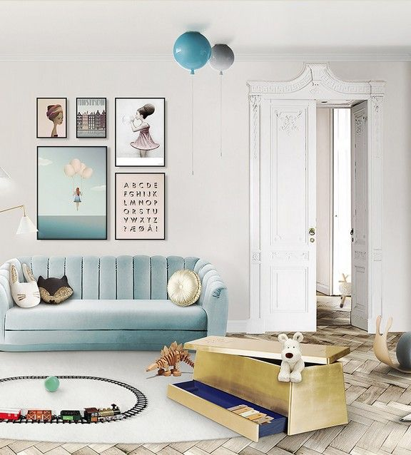 Have you ever seen such a luxurious toy box? Circu is a brand that combines luxury, creativity and quality in children furniture pieces. They will showcase their most recent collections at Maison et Objet Paris. Exciting!