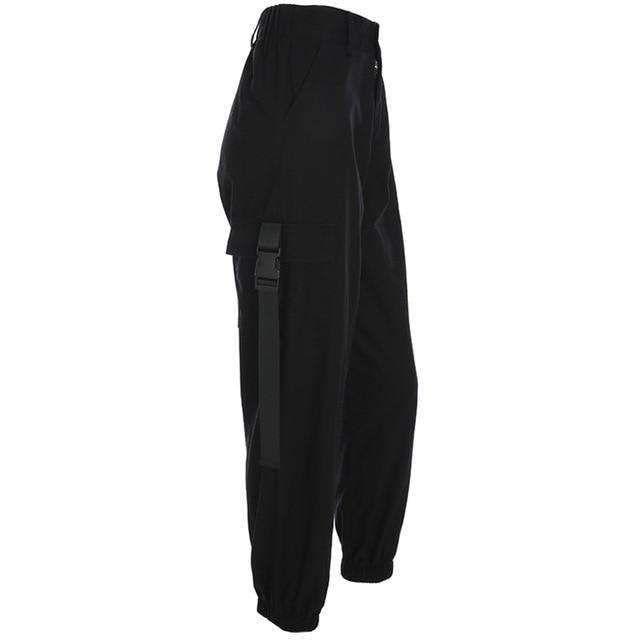 Womens Loose Cargo Pants