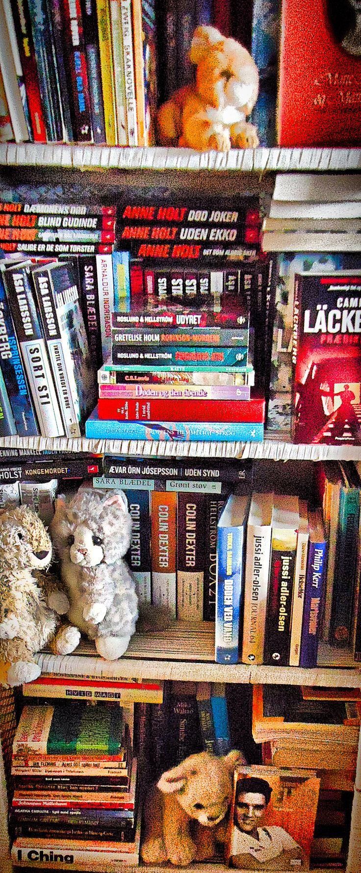 Book organizing, all shelfs# April 2016# KET