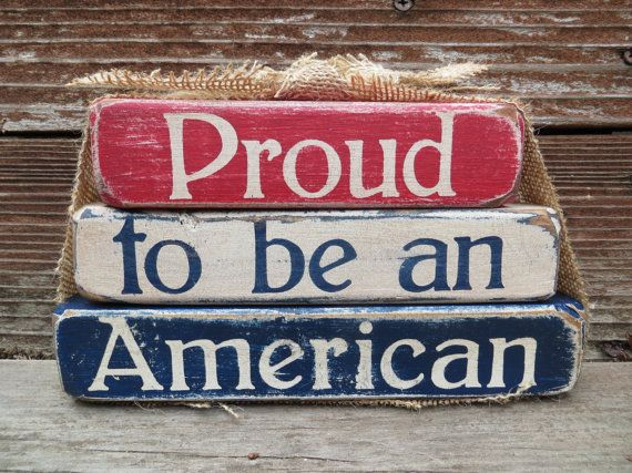 Vintage 4th of July/Patriotic Proud To Be by DaisyBlossomCreation, $13.99