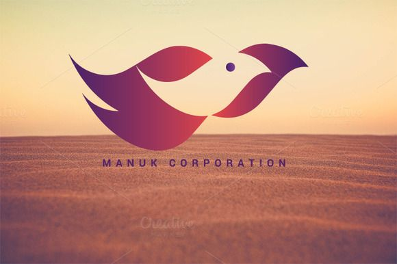 Manuk Corporation Logo by Magoo Studio on Creative Market
