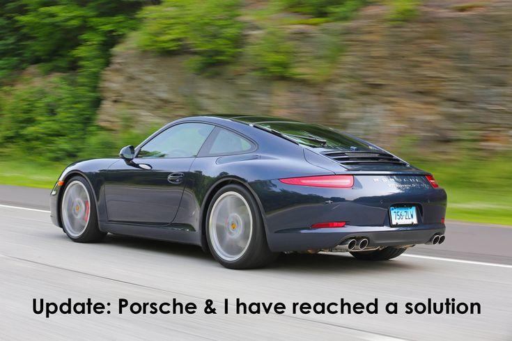 Porsche 911 991 Issues Update Porsche And I Have Reached A Solution Porsche Porsche 911 Car Repair Service