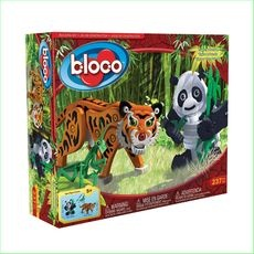 Bloco Construction Toys Tiger and Panda Green Ant Toys www.greenanttoys.com.au