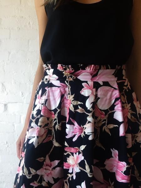 Magnolia Skirt by FOUND. Collection www.foundcollection.co.za Proudly designed and made in South Africa