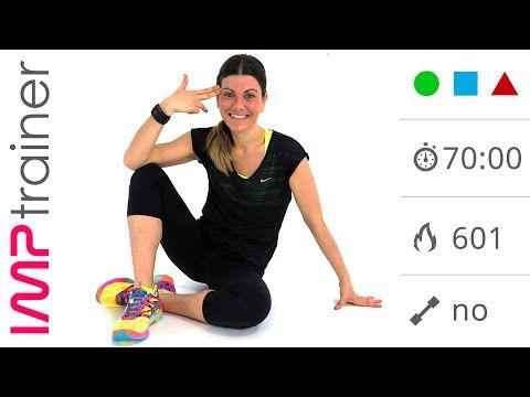 70 minuti: Allenamento Completo Total Body per Tonificare e Dimagrire - YouTube