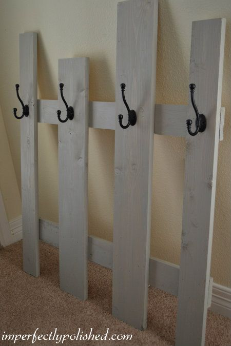 Stocking Holder - Love this one because you don't have to put holes in the wall