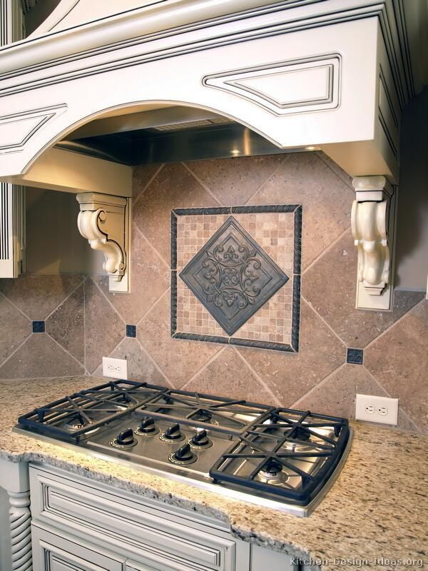 kitchen idea of the day a variety of kitchen backsplash ideas - Kitchen Tile Backsplash Design Ideas