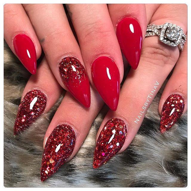 Best 25+ Dark red nails ideas on Pinterest   Maroon nails ...