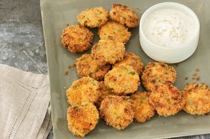 Salmon Cake Minis with Lemon-Dill Aioli Recipe - Kraft Recipes