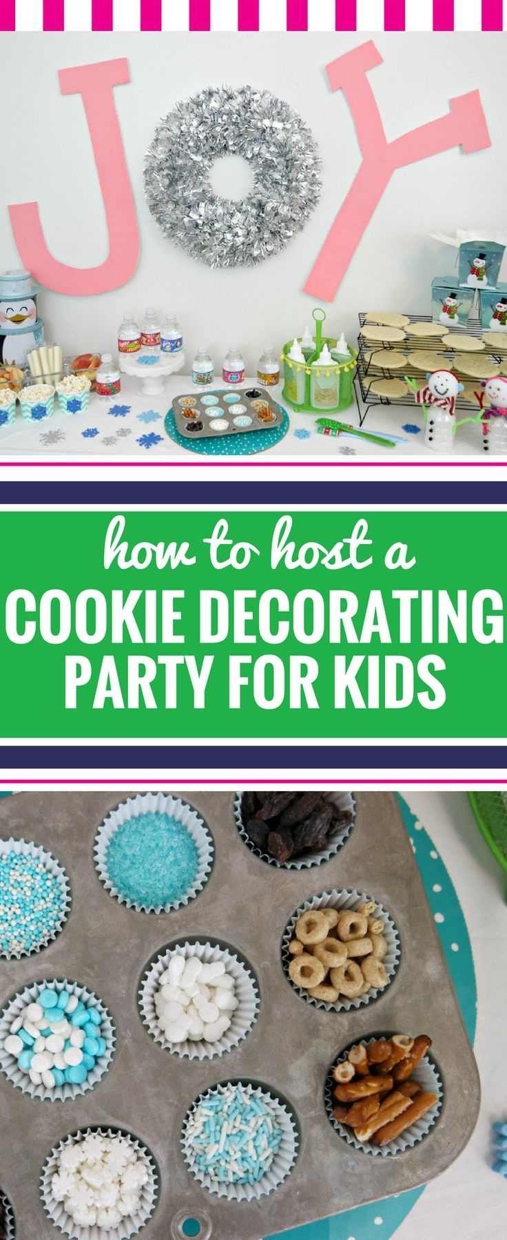 Cookie decorating party ideas - Cookie Decorating Party For Kids