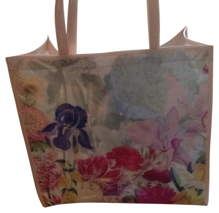 Ted Baker Floral Tote Bag. Get one of the hottest styles of the season! The Ted Baker Floral Tote Bag is a top 10 member favorite on Tradesy. Save on yours before they're sold out!