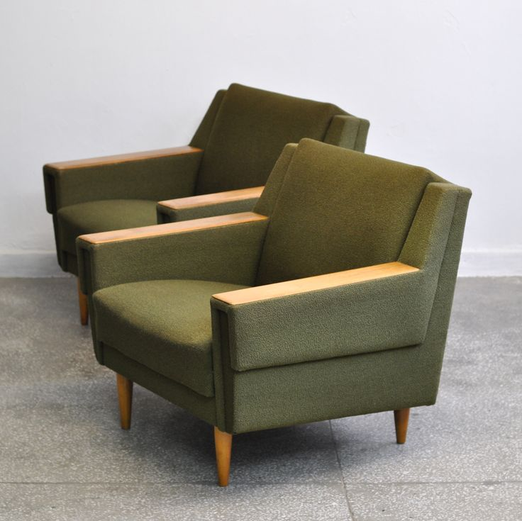 Mid-Century Danish Lounge Chairs, 1960s