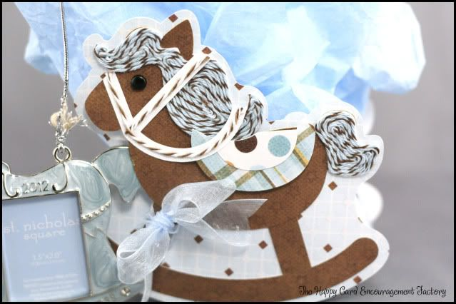 Rocking Horse Gift Bag - HappyCardFactory Designs #baby by Becki