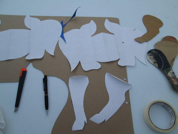 Puerquito metálico (alcancía) realizada con material de reciclado  - ¿Quieres ver más trabajos de Carpintería Metálica, Soldadura y Herrería? Visita: http://www.hechoxnosotrosmismos.com/f21-carpinteria-metalica-soldadura-y-herreria/