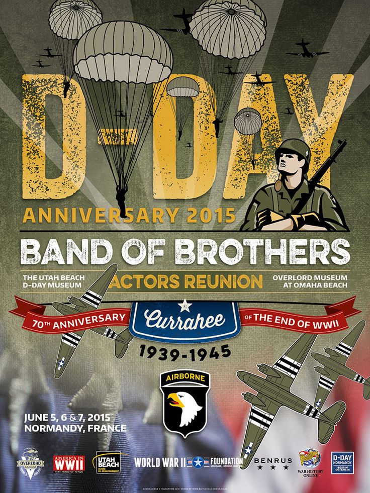 What:2015 will be the second and final reunion of the actors in Normandy for the foreseeable future. The 2015 events will recognize the70th anniversaryof the end of the war in Europe (VE Day). Who:Several new Band of Brothers actors will be joining us in 2015 and hopefully, some of the familiar faces from 2014 as well. When & Where:June 5, 6 & 7, 2015 at Overlord Omaha Beach Museum, the Utah Beach Museum and the Richard D. Winters Leadership Monument in Sainte-Marie-du-Mont, Normandy…