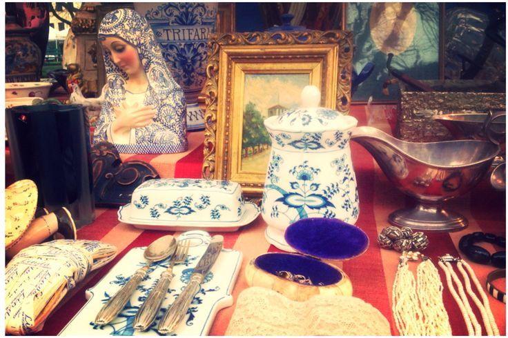 I miei oggetti al mercato antiquario!