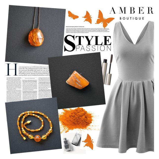 AMBER Boutique by gaby-mil on Polyvore featuring Ilia, Burberry, vintage, ring, jewelry, bracelet, necklace and amberboutique
