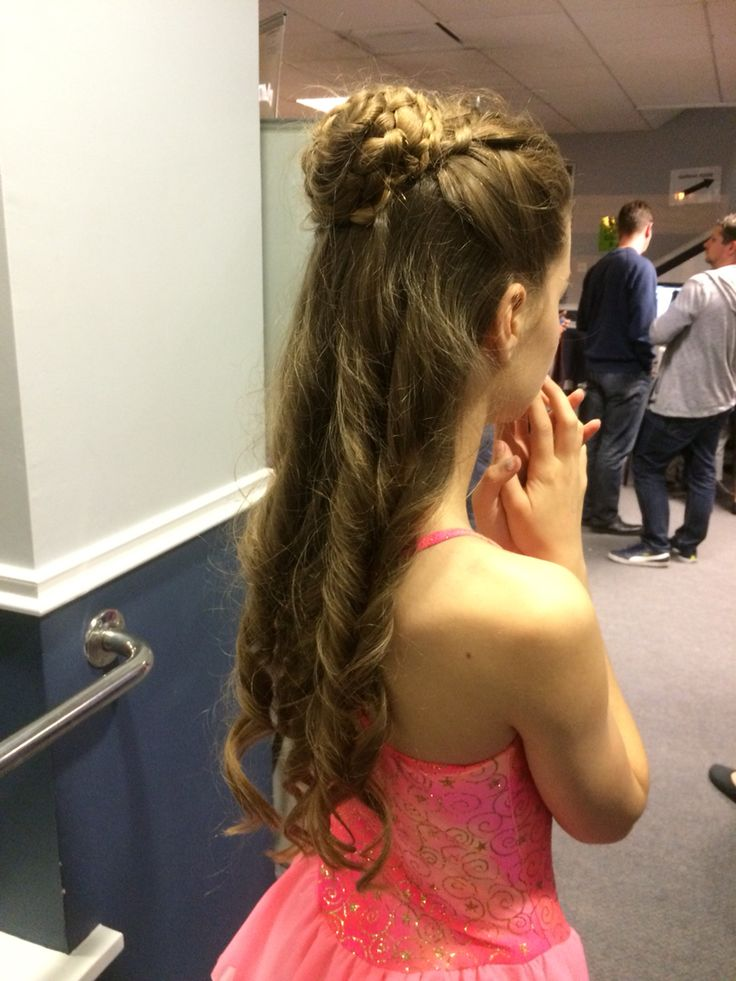 Lyrical Hair Style Lose French Plait Side Parting Into A