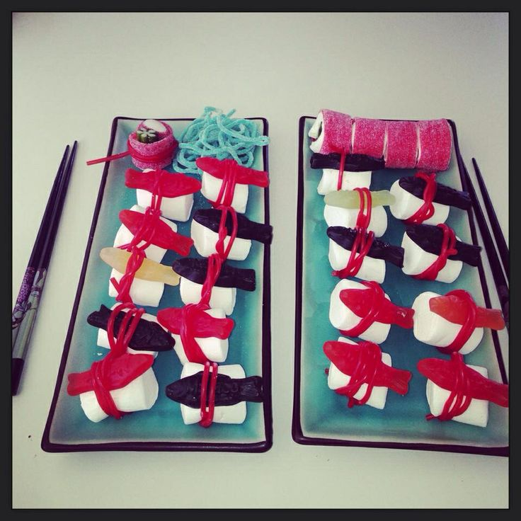 Barn kalas - sushi för nybörjare