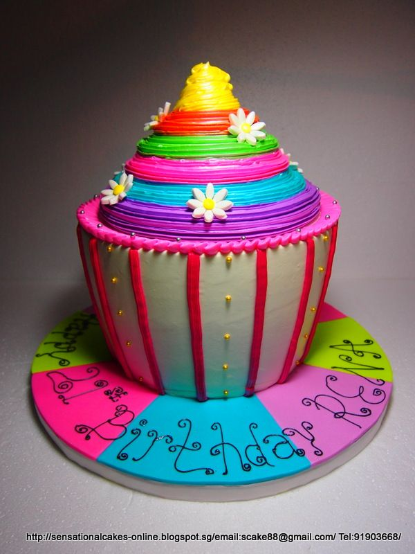 teen birthday cakes for girls | ... CAKE SINGAPORE , 21ST BIRTHDAY CAKE SINGAPORE / RAINBOW CAKE SINGAPORE