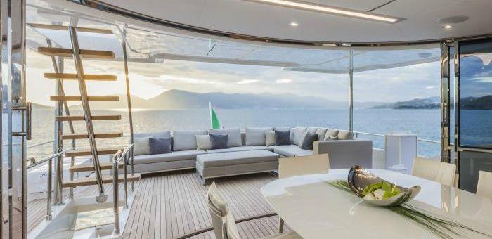 Top Yacht Interiors: Custom Line's Navetta 28