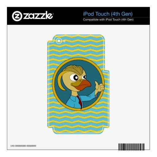 Puffin cartoon  iPod skin