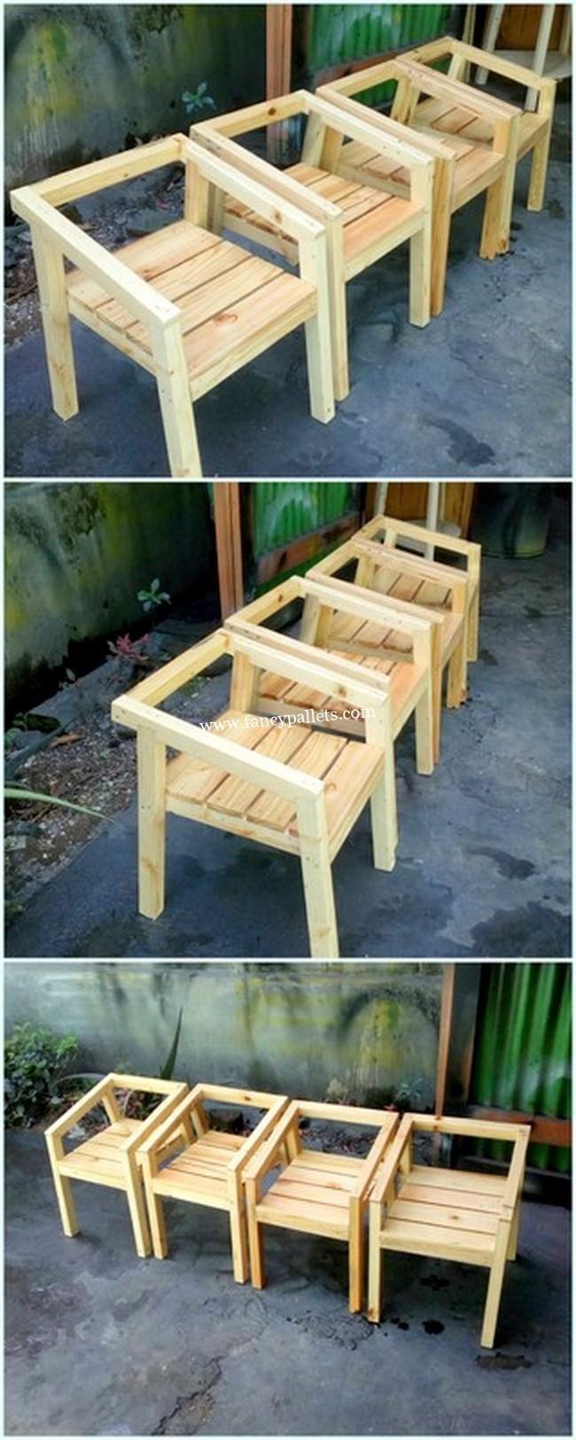 Easy Wooden Pallet Chair 2019 Diy Furniture Easy Diy Pallet