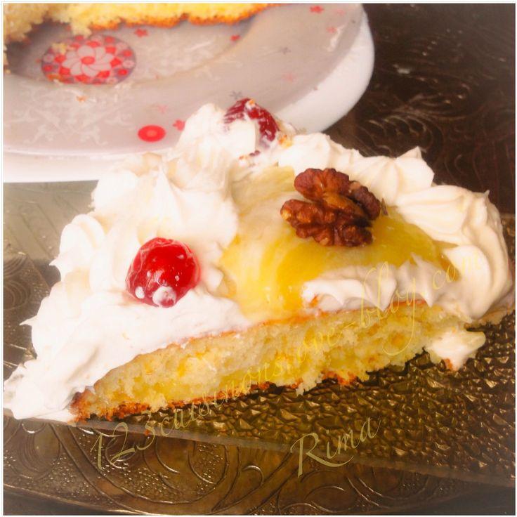 Gâteau de yaourt à la crème de citron