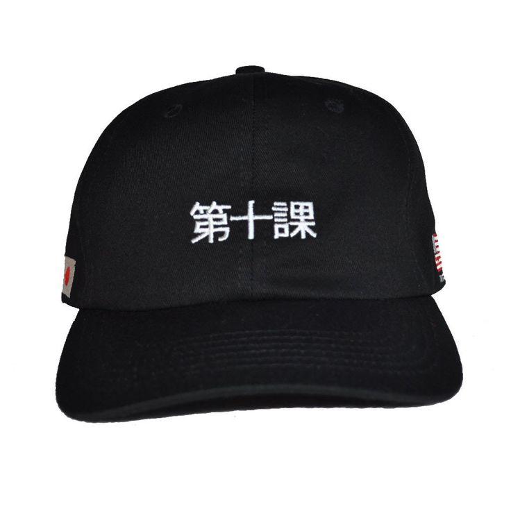 10Deep - Katakana Strapback, Black