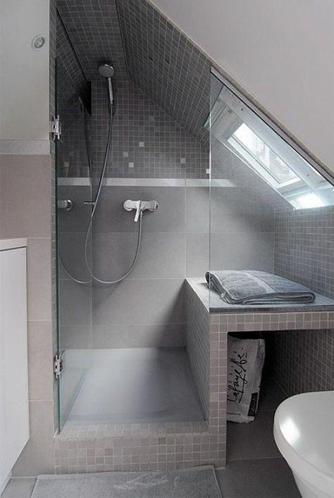 Die besten 25+ Bad mit dachschräge Ideen auf Pinterest Badideen - blau fr dachschrage