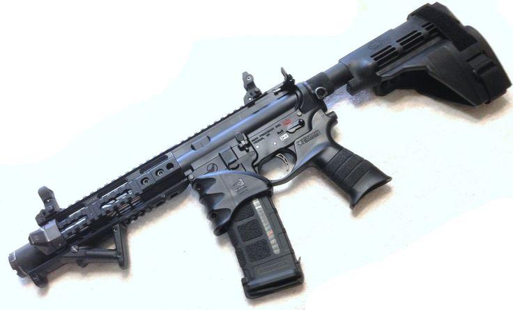"Melonite 7.5"" .223/5.56  AR Competition Pistol Barrel Nitride Lined Bore"
