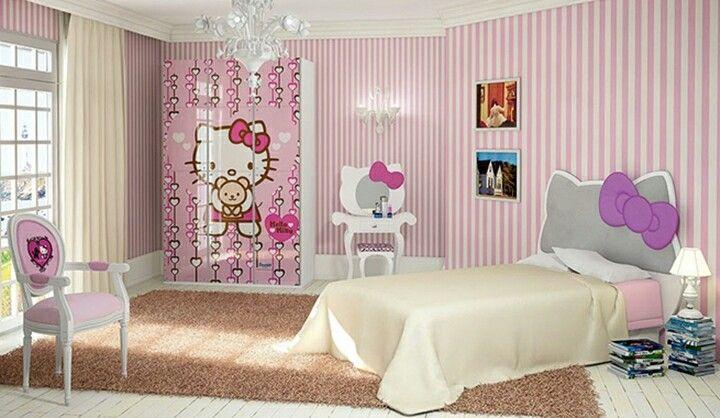 25 einzigartige hello kitty room decor ideen auf pinterest hello kitty zimmer hallo kitty. Black Bedroom Furniture Sets. Home Design Ideas